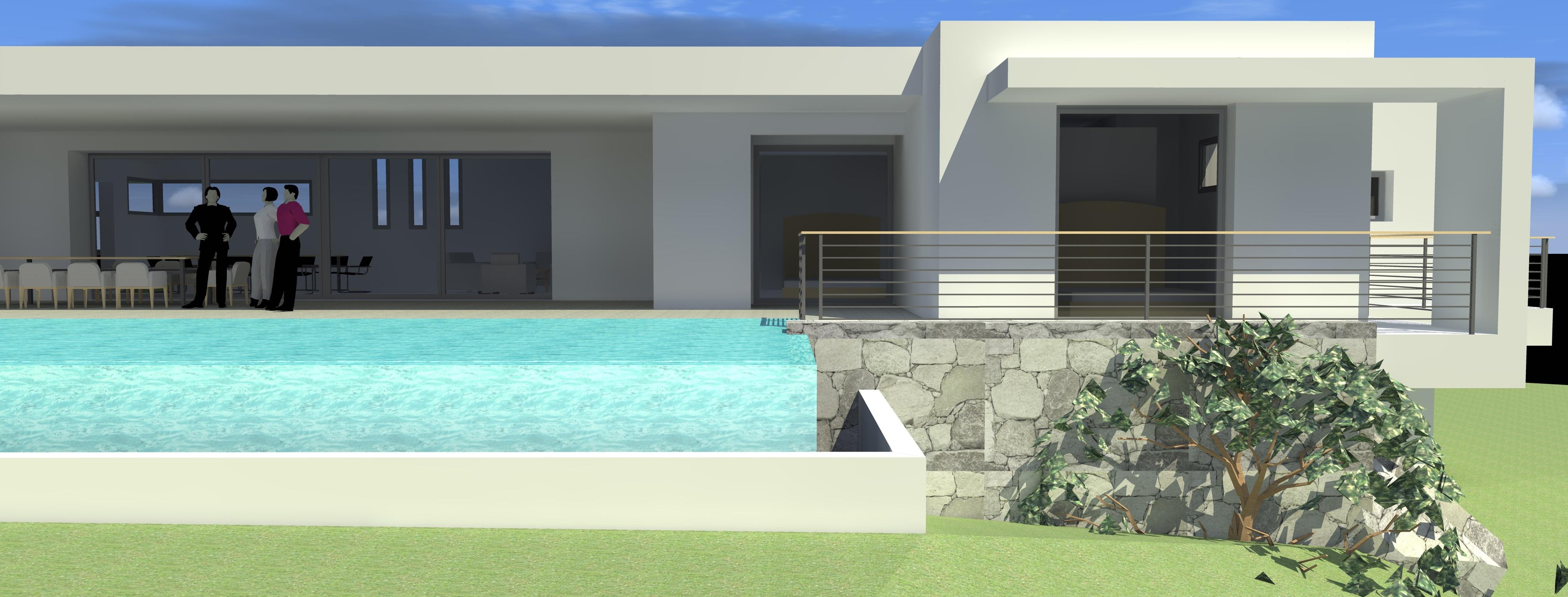 Villa rg villa contemporaine de luxe corse du sud Villas contemporaines de luxe
